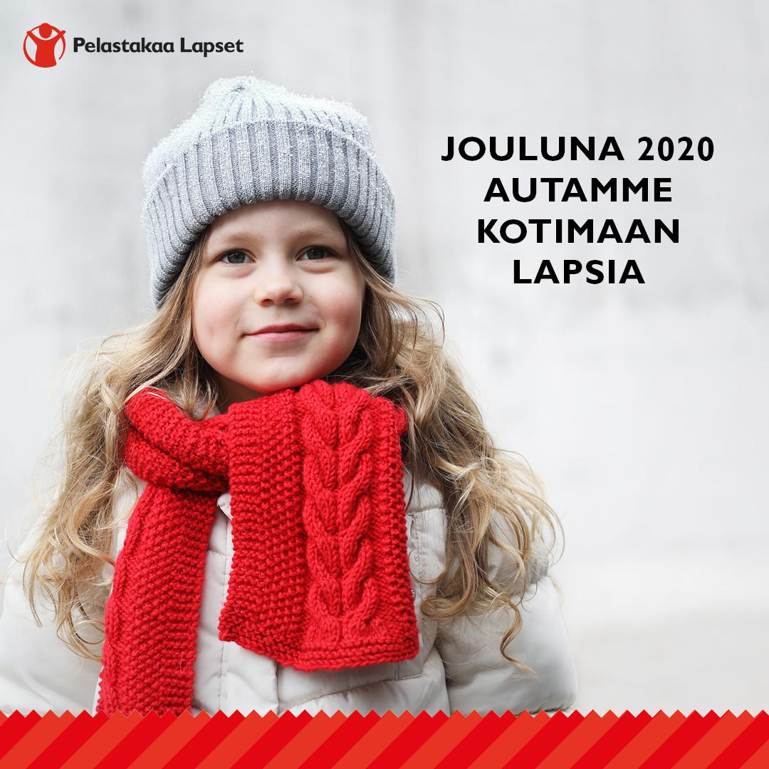 Joulunkeräys 2020 Pelastakaa lapset